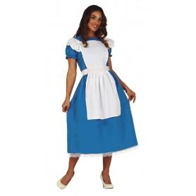 DISFRAZ BLUE LITTLE GIRL ALICIA PAIS MARAVILLAS S