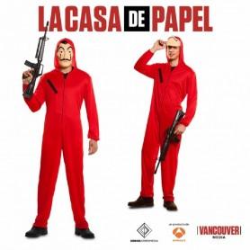 DISFRAZ LADRON LA CASA DE PAPEL XS