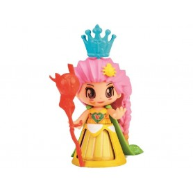 PINYPON QUEEN FIGURA ANIMAL VESTIDO AMARILLO