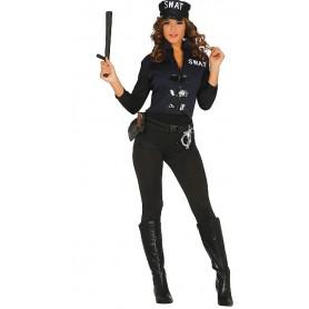 DISFRAZ POLICIA SWAT S.W.A.T. T.S/M