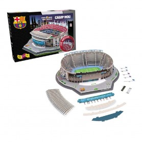 ESTADIO CAMP NOU 3D PUZZLE CON LUZ LED BARCELONA