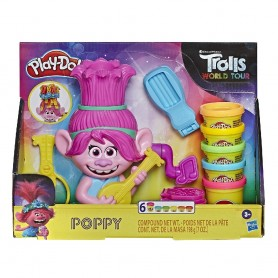 PLAY-DOH TROLLS POPPY