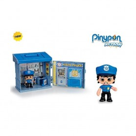 PINYPON ACTION BOX - MINI ESTACION DE POLICIA CON POLICIA