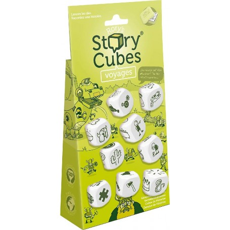 JUEGO DADPS - STORY CUBES VIAJES BLISTER