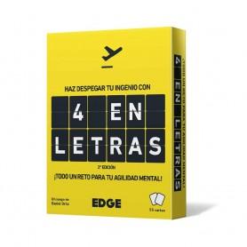 JUEGO CARTAS - 4 EN LETRAS