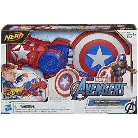 AVENGERS - LANZADOR POWER MOVES CAPITÁN AMÉRICA