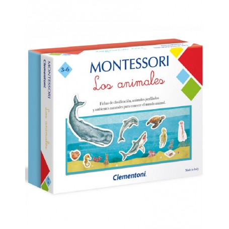 MONTESSORI - LOS ANIMALES