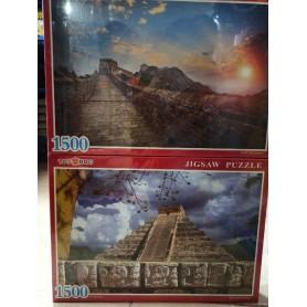 PUZZLE 1500 PZAS (SURTIDO)
