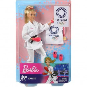BARBIE KARATE OLIMPIADAS