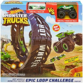 HOTWHEELS - RETO DE LOOPINGS EPICOS - MONSTER TRUCKS
