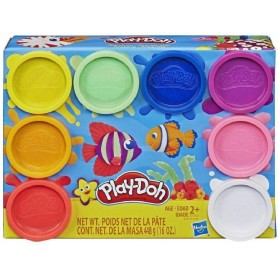 PLAY-DOH PACK 8 BOTES ARCOIRIS