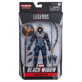 FIGURA TASKMASTER BLACK WIDOW LEGENDS SERIES MARVEL
