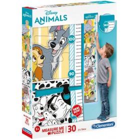 PUZZLE METRO DISNEY ANIMALS 30 PZAS