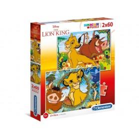 PUZZLE LION KING 2X60 PZAS