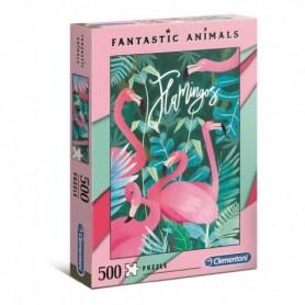 PUZZLE FLAMENCOS DE 500 PIEZAS