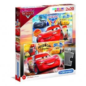 PUZZLE 2X20 PZAS CARS