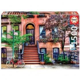 PUZZLE 1500 PIEZAS GREENWICH VILLAGE, NUEVA YORK