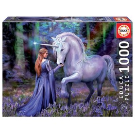 PUZZLE  1000 BLUEBELL WOODS, ANNE STOKES