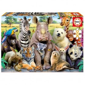 PUZZLE 300 PIEZAS FOTO DE CLASE ANIMALES