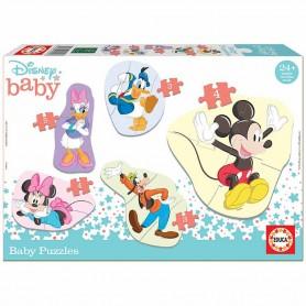 BABY PUZZLE DISNEY MICKEY & FRIENDS PROGRESIVO 3+3+4+4+5 PIEZAS