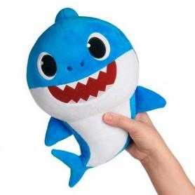 BABY SHARK- PELUCHE MUSICAL DADDY SHARK, AZUL