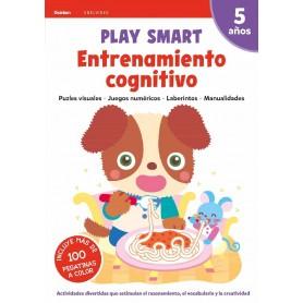 LIBRO PLAY SMART : ENTRENAMIENTO COGNITIVO. 5 AÑOS