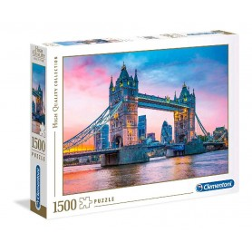 PUZZLE ATARDECER EN TOWER BRIDGE DE 1500 PZAS