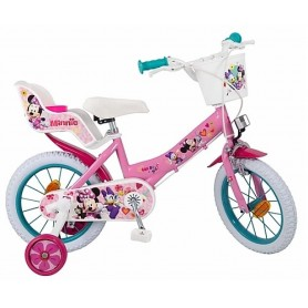 "BICICLETA MINNIE 14"" DISNEY"