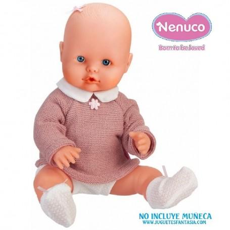 NENUCO - ROPITA EN PERCHA CONJUNTO PUNTO 35CM
