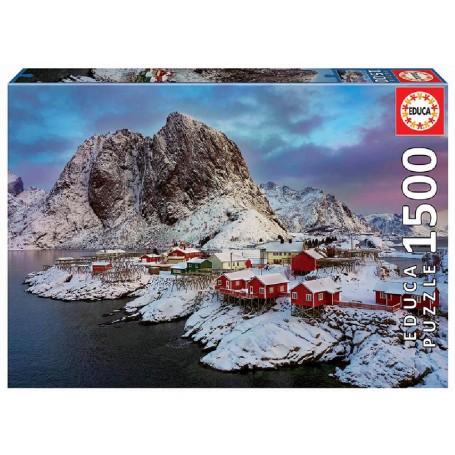 PUZZLE 1500 ISLAS LOFOTEN, NORUEGA