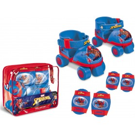 SPIDERMAN - SET PATINES Y PROTECCIONES