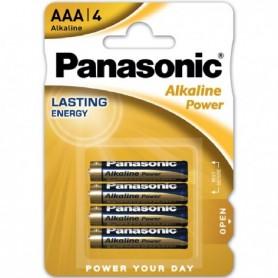 BLISTER 4 PILAS PANASONIC LR03 / AAA ALCALINA