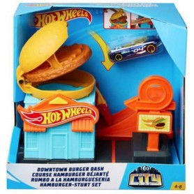 HOT WHEELS - RUMBO A LA HAMBURGUESERIA