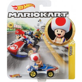 HOT WHEELS - MARIO KART VEHICULO TOAD