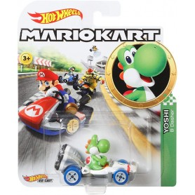 HOT WHEELS - MARIO KART VEHICULO YOSHI