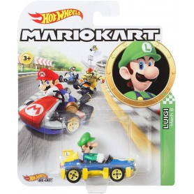 HOT WHEELS - MARIO KART VEHICULO LUIGI