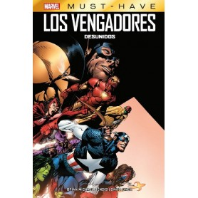 COMIC LOS VENGADORES. DESUNIDOS MARVEL MUST HAVE