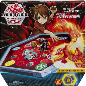 BAKUGAN BATTLE ARENA + BAKUGAN EXCLUSIVO