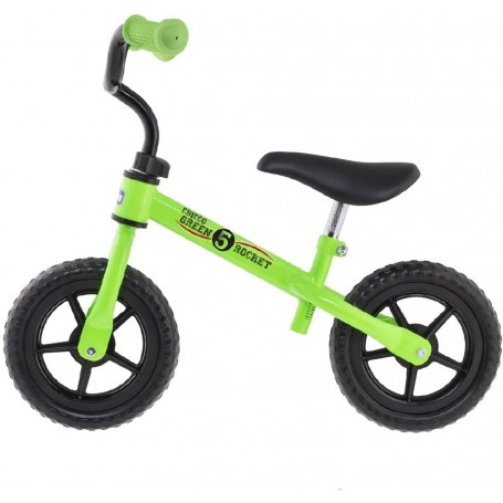 CHICCO FIRST BIKE GREEN ROCKET - BICICLETA SIN PEDALES