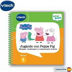 LIBRO PARA MAGIBOOK PEPPA PIG