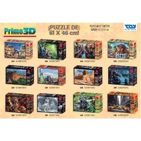 PUZZLE SUPER 3D 61X46CM GRANDE (SURTIDO)