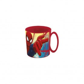 TAZA MICROONDAS SPIDERMAN MARVEL 35CL