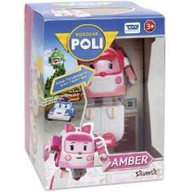 ROBOCAR POLI TRANSFORMING - MUÑECO AMBER