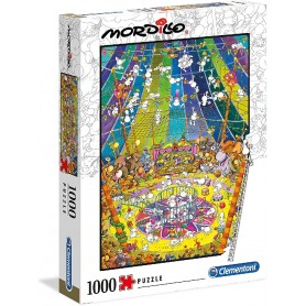 PUZZLE 1000 PIEZAS MORDILLO : THE SHOW