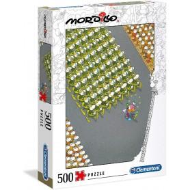 PUZZLE 500 PIEZAS MORDILLO : THE MATCH
