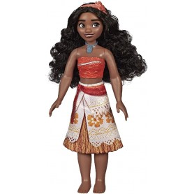 MUÑECA PRINCESA VAIANA BRILLO REAL DISNEY