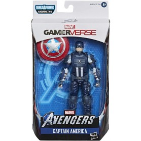 FIGURA MARVEL LEGENDS: CAPITAN AMERICA 15 CM