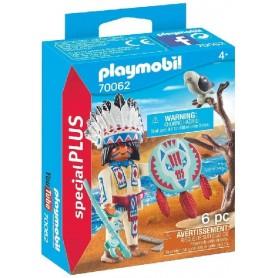 PLAYMOBIL SPECIAL PLUS - JEFE NATIVO AMERICANO 70062
