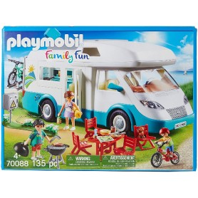PLAYMOBIL FAMILY FUN - CARAVANA DE VERANO 70088