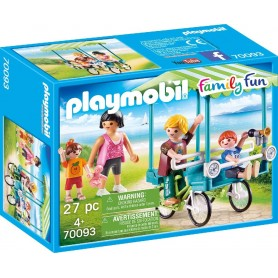 PLAYMOBIL FAMILY FUN - BICICLETA FAMILIAR 70093